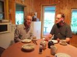 Jaapanlane Kenzo Morishita ja tõlk Vahur Kuusk