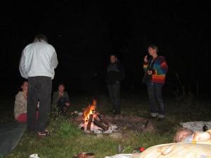 lõkke ääres